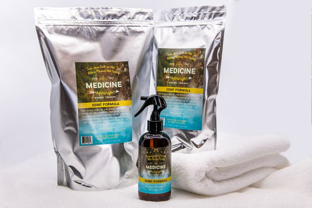 Three ways to get the Medicine Springs Joint Formula mineral therapy product.
